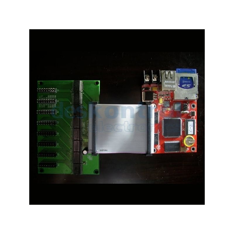 LED Drive Control Card RGB Full Color Display Sign