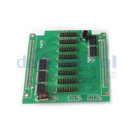 Card converter LED display true color HUB75