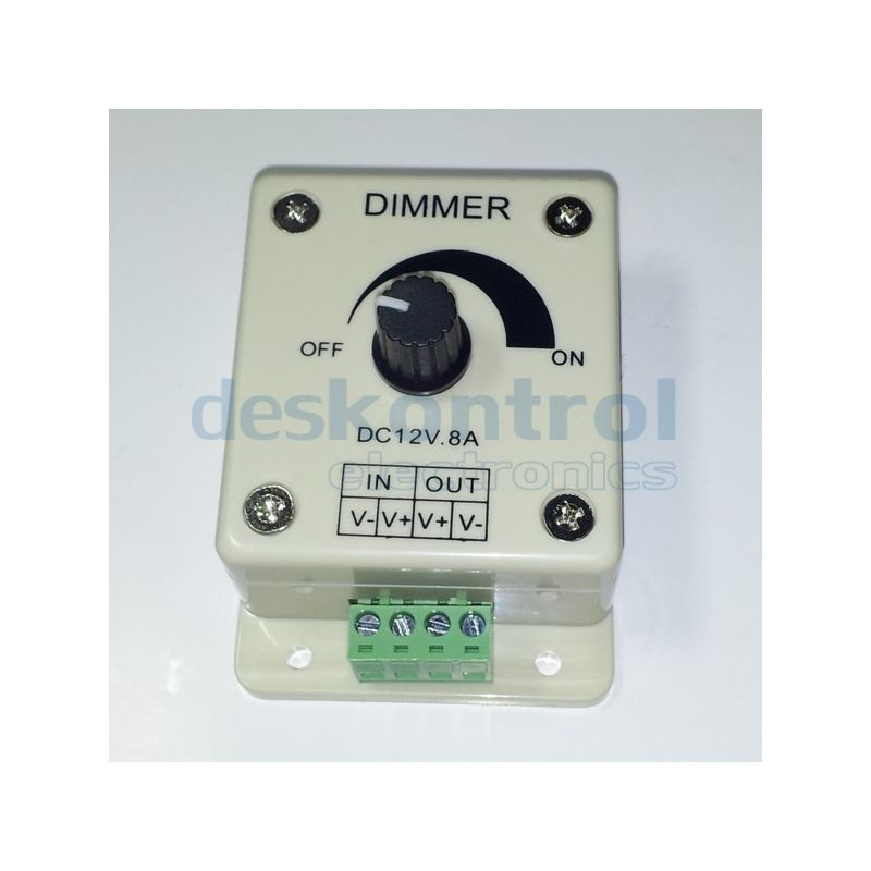 LED dimmer 1 chanel 8A