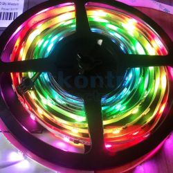 RGB digital led strip 12v 30 leds 30 pixels meter GS8208 5m