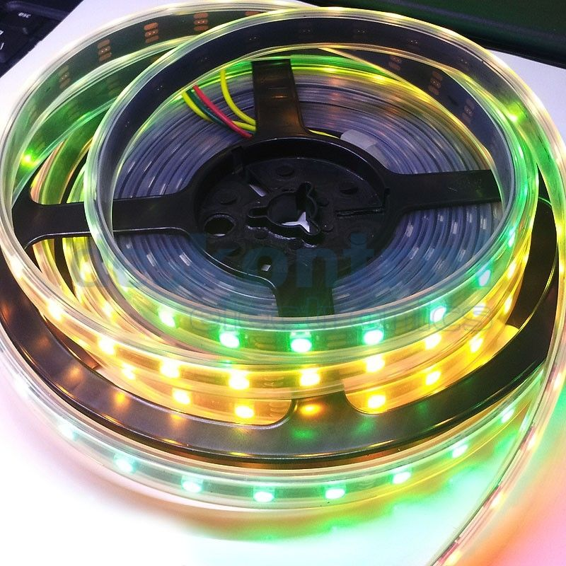 RGB digital led strip APA102 60 leds meter 72w