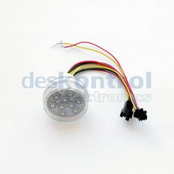 LED pixel 45mm UCS1903 9leds 2.2w tranparente