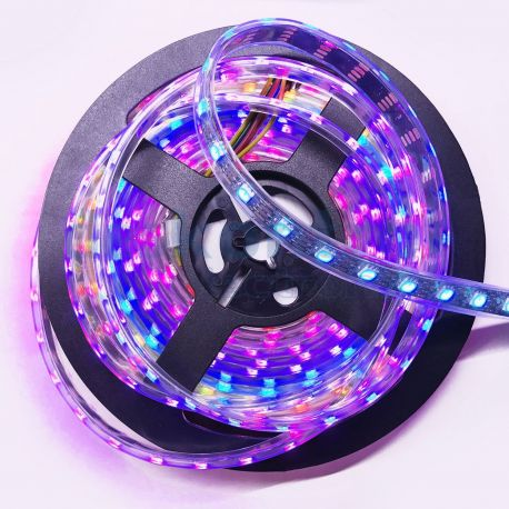 RGB digital led strip WS2801 60 leds meter 72w