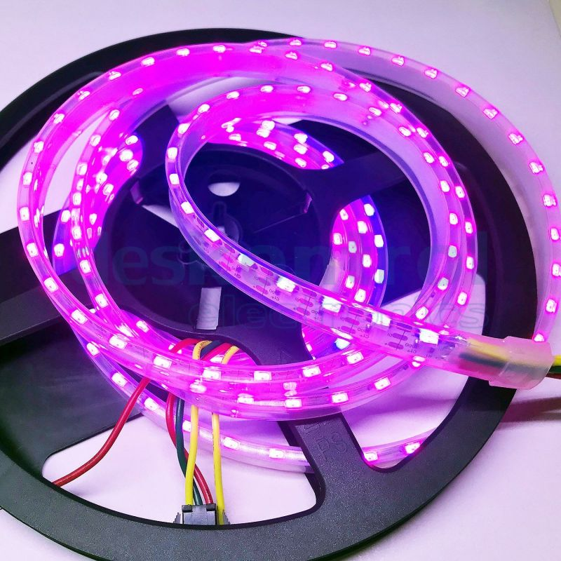 RGB digital led strip SK6812 SIDE 4020 90 leds meter 2m